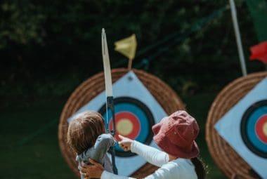 Teach Kid Archery