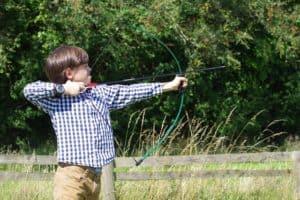 teaching kids archery